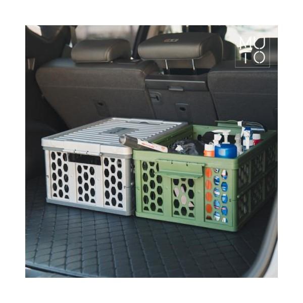 [뮤토] 멀티 폴딩박스 세트(방수팩 포함_개별 핸들박스 포장_색상 택1